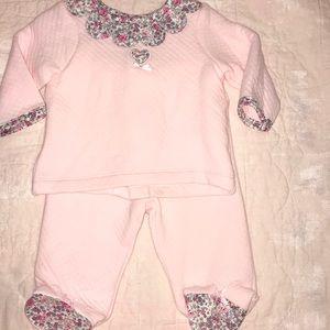 Little Me Floral Pink 2pc Set